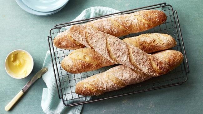 Bánh mì được làm từ bột mì